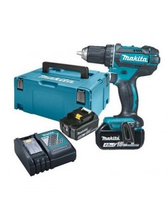 Coffret perceuse visseuse MAKITA 18 Volts Li-Ion 4 Ah Ø 13 mm